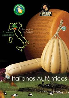 Jornadas gastronómicas del Parmigiano-Reggiano y del Provolone Valpadana en Barcelona