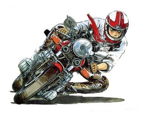 Bari Bari Densetsu, carreras de motos de los ochenta en formato manga