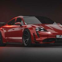 Porsche Taycan by Prior Design, el auto eléctrico adquiere un aspecto muy GT3 gracias al preparador alemán