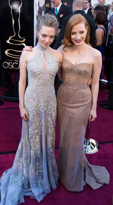 Oscar 2013 (II): con ellas llegaron los brillos y el color a la alfombra roja
