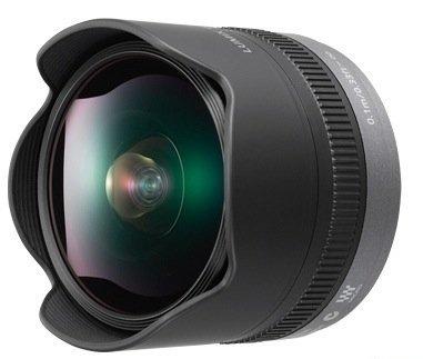 Lumix 8mm F3.5, un ojo de pez para el Micro Cuatro Tercios