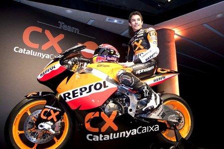 Combinación ganadora para Marc Márquez en Moto2