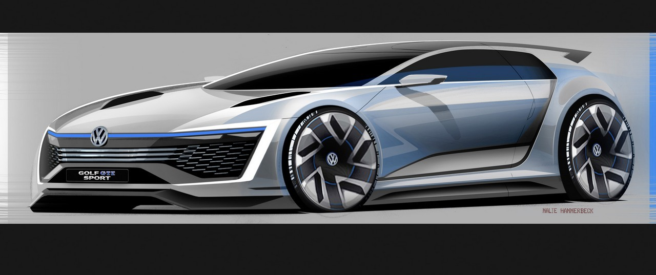 Foto de Volkswagen Golf GTE Sport Concept (22/43)
