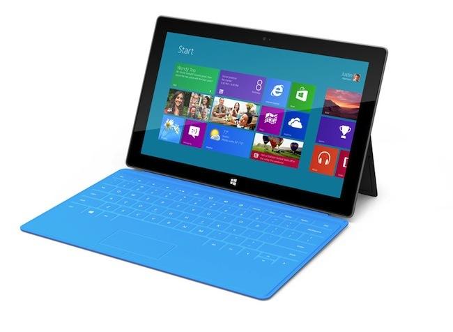 Microsoft Surface con teclado-funda