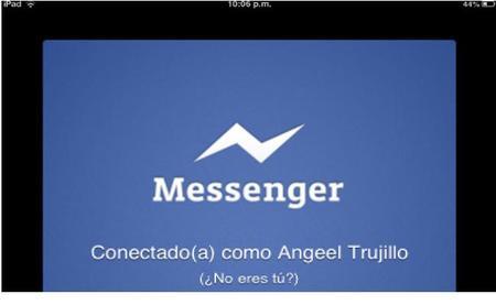 Facebook podría presentar Messenger para iPad este martes.