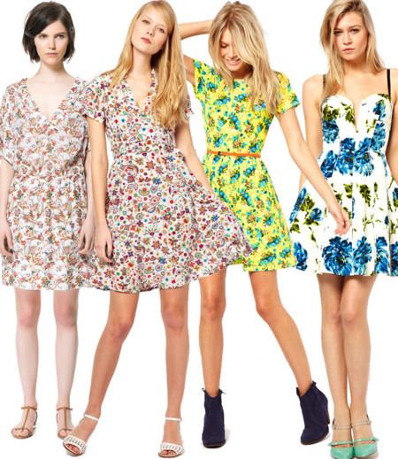 Vestidos primavera flores
