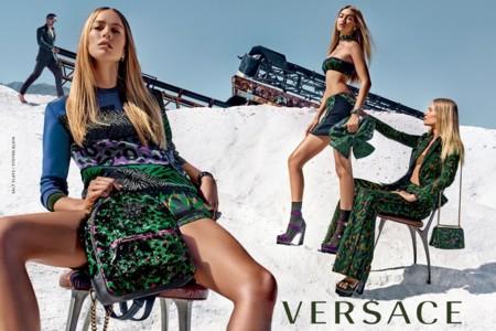 Versace Campana Primavera Verano 2016 Gigi Hadid Raquel Zimmermann Natasha Poly Steven Klein 3