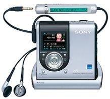 Cámara en los MiniDisc de Sony