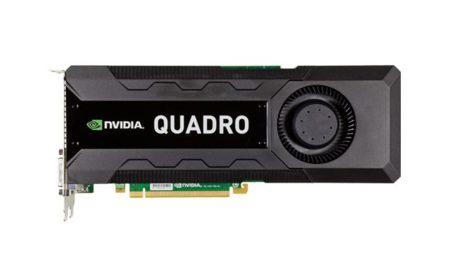 NVidia Quadro K5000 llega con certificación para Mac