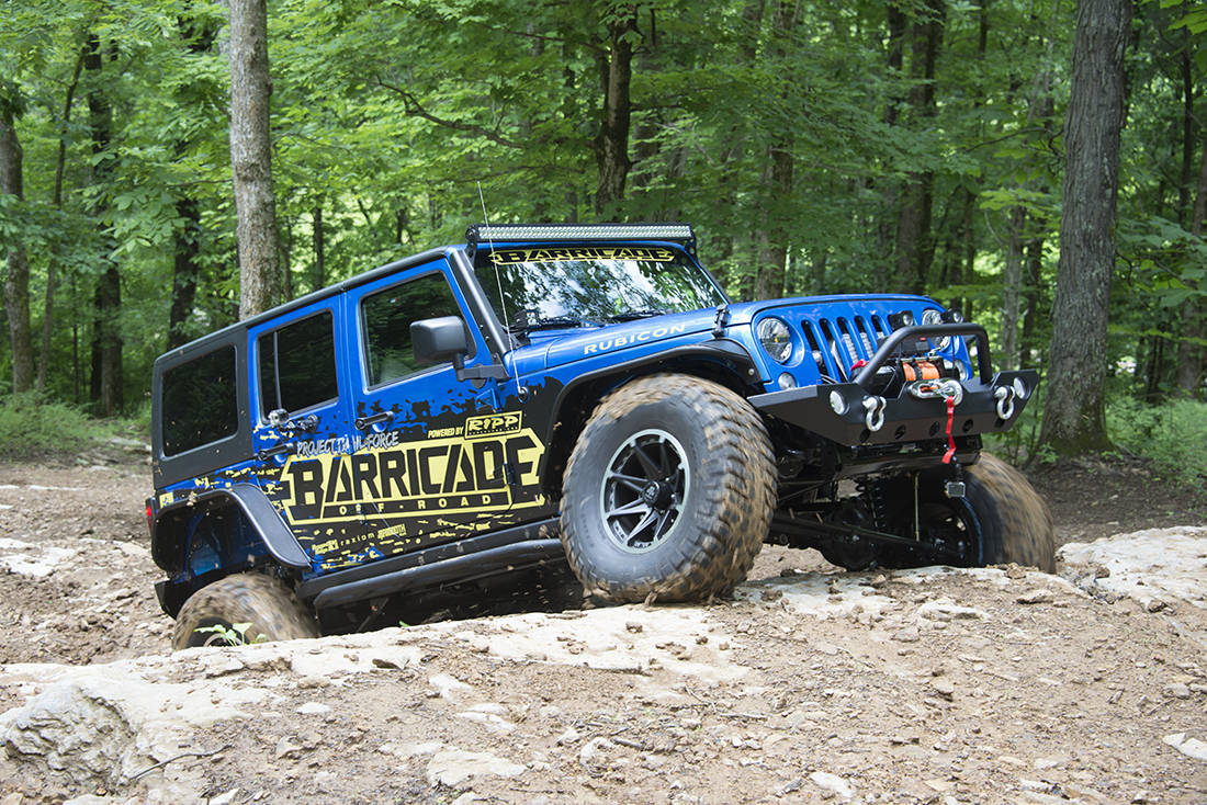 Foto de Jeep Wrangler Project Trail Force (3/19)