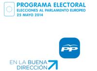 Programa del Partido Popular para las Elecciones Europeas del 25 de mayo
