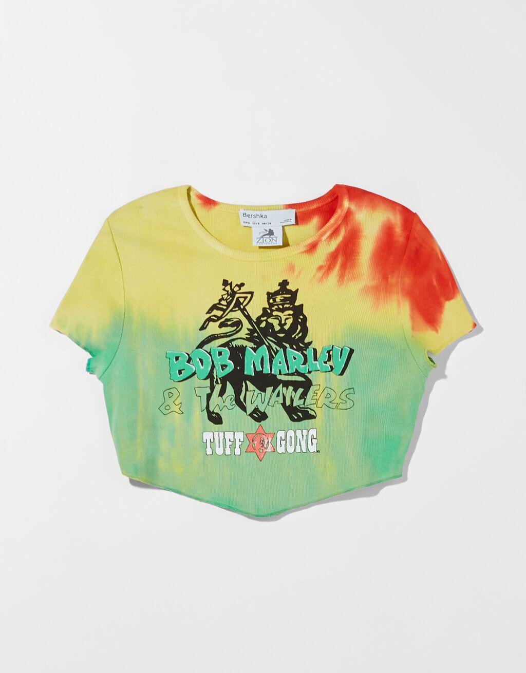 Camiseta manga corta Bob Marley.