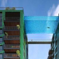Bañarse desde las alturas: en Londres se creará la primera sky pool