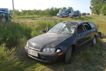 Accidente real de un Volvo V40 a 100 Km/h