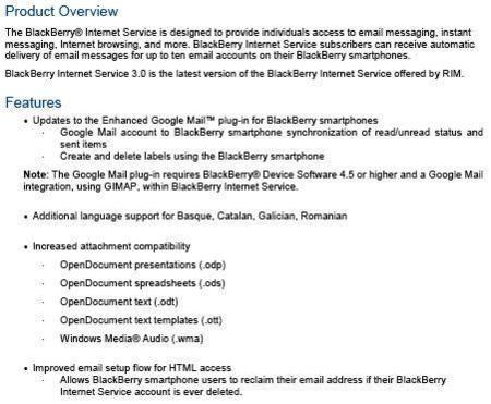 BIS 3.0 para BlackBerry se retrasa al 21 de marzo oficialmente