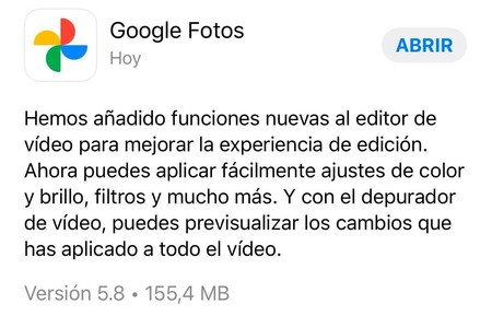 Google Fotos Editor Vídeo Iphone