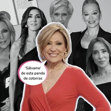 Rosa 'Venenito' la lía parda en Telecinco: cuenta la verdad sobre 'Sálvame' y apoya la postura de Antonio Canales