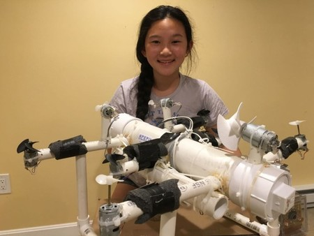 I 1 40589282 This Sixth Grader Invented A Robot To Find Ocean Plastic