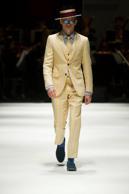 Hackett London SS 14  Yellow