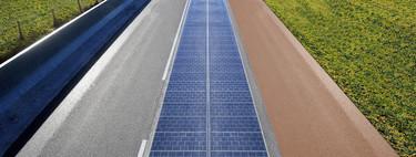 El primer experimento con carretera solar en Francia ha sido un fracaso: pavimento deterioriorado, ruidoso y poco eficiente
