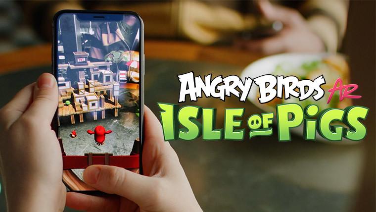 Angry Birds AR: Isle of Pigs', el nuevo juego de realidad ...