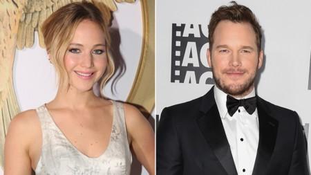 Jennifer Lawrence Chris Pratt A L
