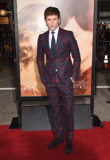 Eddie Redmayne The Danish Girl Premiere