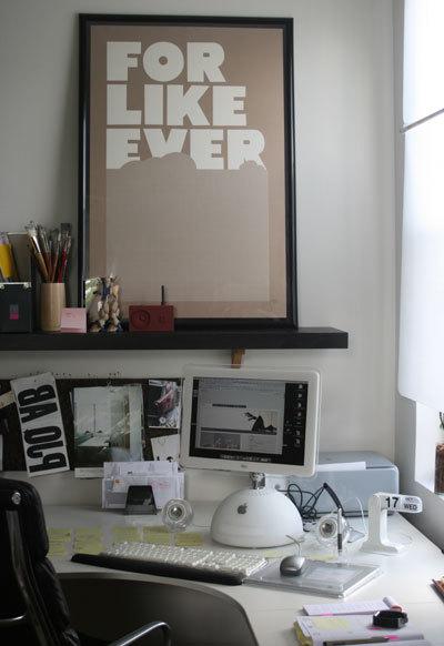 Puertas abiertas: un despacho estrecho