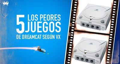 Los cinco peores juegos de Dreamcast según Vidaextra