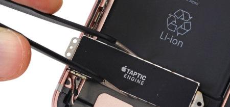 """Qué es el """"Taptic Engine"""" de Apple y por qué es más grande en el iPhone 7 Plus"""