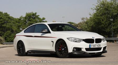Probamos el BMW 435i Coupé cargado de accesorios M Performance y las conclusiones tal vez te sorprendan