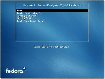 Fedora 15, calendario de lanzamiento y novedades
