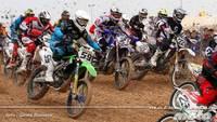 José Antonio Butrón no da opción en el arranque del nacional de motocross en Albaida