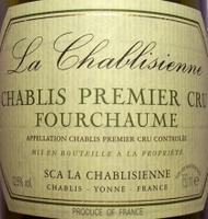 La Chablisienne, Chablis 1er Cru Fourchaume 2004