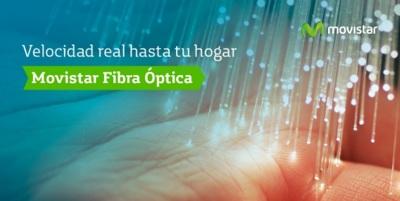 Movistar sigue empujando a contratar Fusión con una nueva subida de la fibra fuera de ella