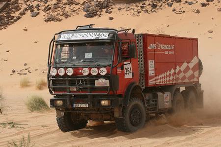 Rally de Tunez, camión