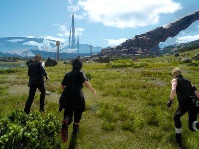 Un glitch de Final Fantasy XV revela la existencia de nuevas zonas que no han sido utilizadas