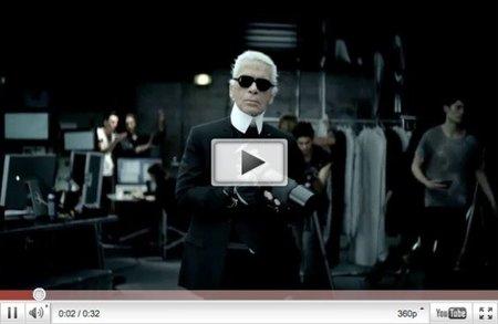 Karl Lagerfeld y ¿Baptiste Giabiconi? son la imagen de un coche de Volkswagen