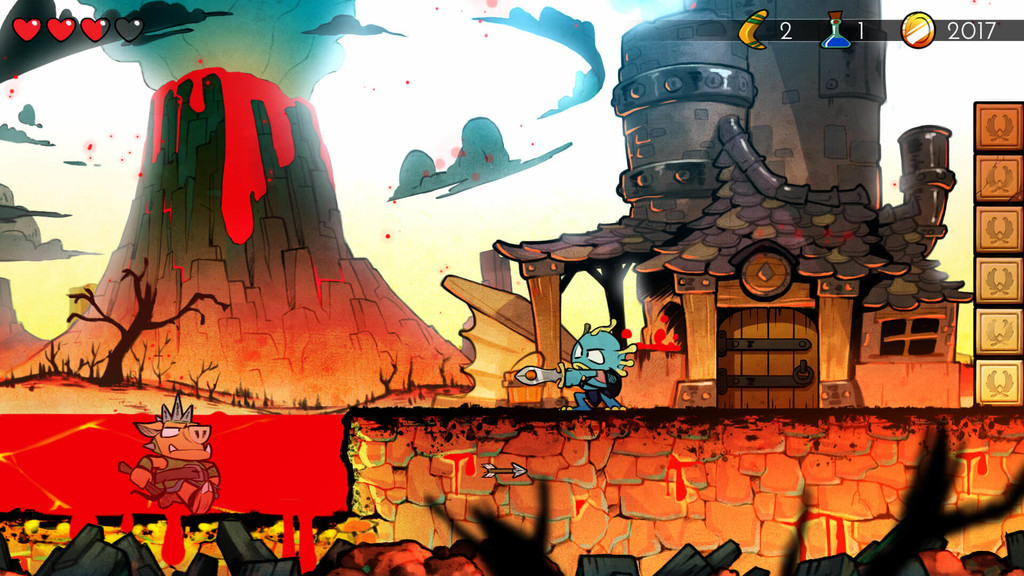 Wonder Boy: The Dragon's Trap paseará sus bonitos y coloridos gráficos también por smartphones