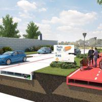 PlasticRoad es la carretera que Rotterdam quiere construir con tus botellas de agua usadas