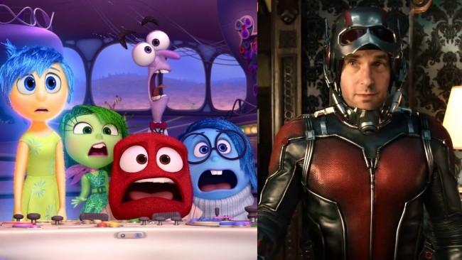 Imágenes de Del Reves (Inside Out) y Ant-Man