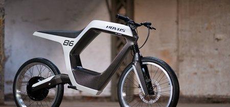 Novus: una nada asequible mezcla de moto eléctrica y bici con 97 km/h de velocidad punta y casi 100 km de autonomía