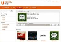 Ubuntu One Music añade streaming de canciones desde la web
