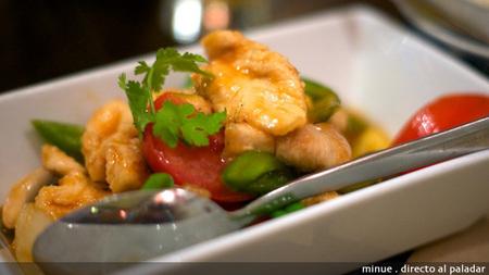 Bangkok café - pollo agridulce