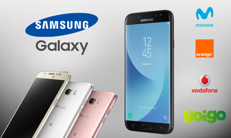 Samsung Galaxy J7 (2017) y Galaxy J5 (2017) llegan a Movistar, Vodafone, Orange y Yoigo: comparamos precios