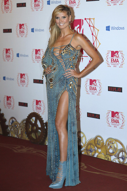 Heidi Klum MTV European Music Awards 2012