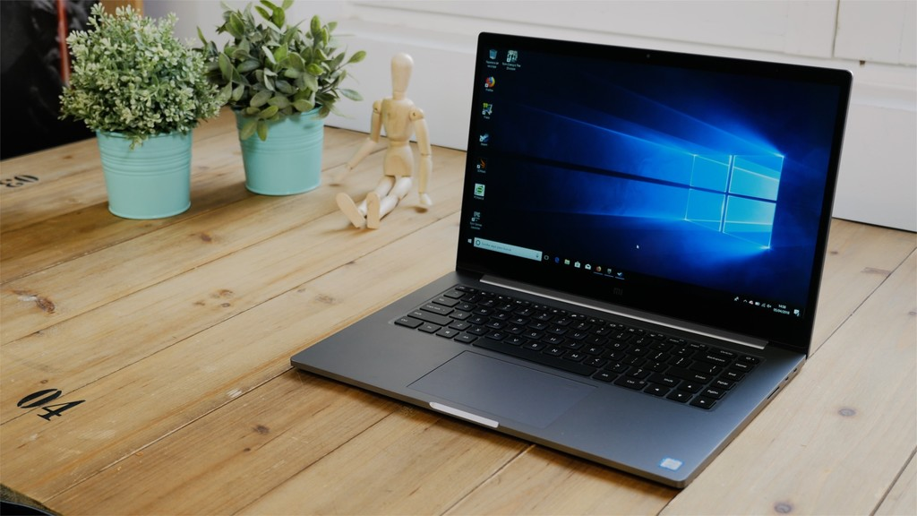 Xiaomi Mi NOtebook Pro review diseño