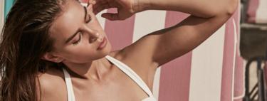 13  bañadores y bikinis de El Corte Inglés que apuestan por un verano en blanco y negro