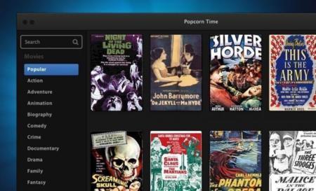 Popcorn Time prepara su fork para Android, Time4Popcorn