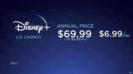 Disney Precio